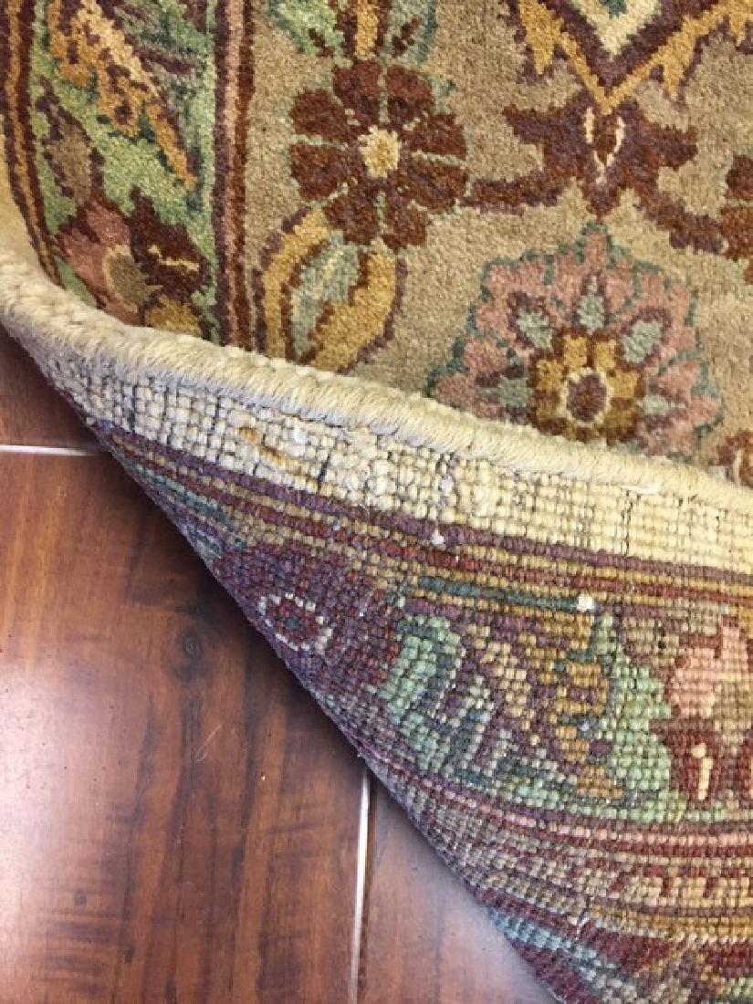 Indian Origin, Handmade of Wool Rug #551 - 3