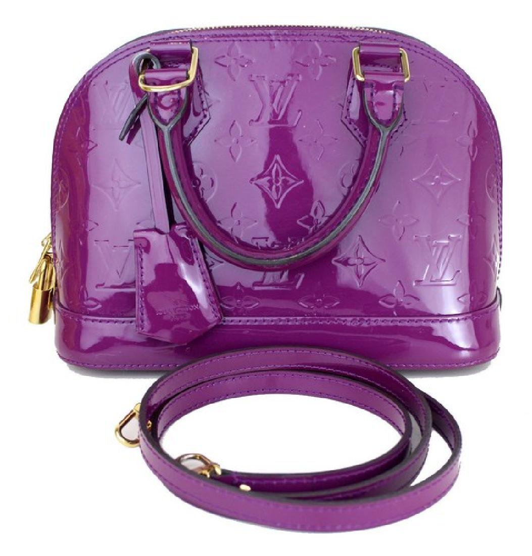 Louis Vuitton Handbag LV Purple Alma BB