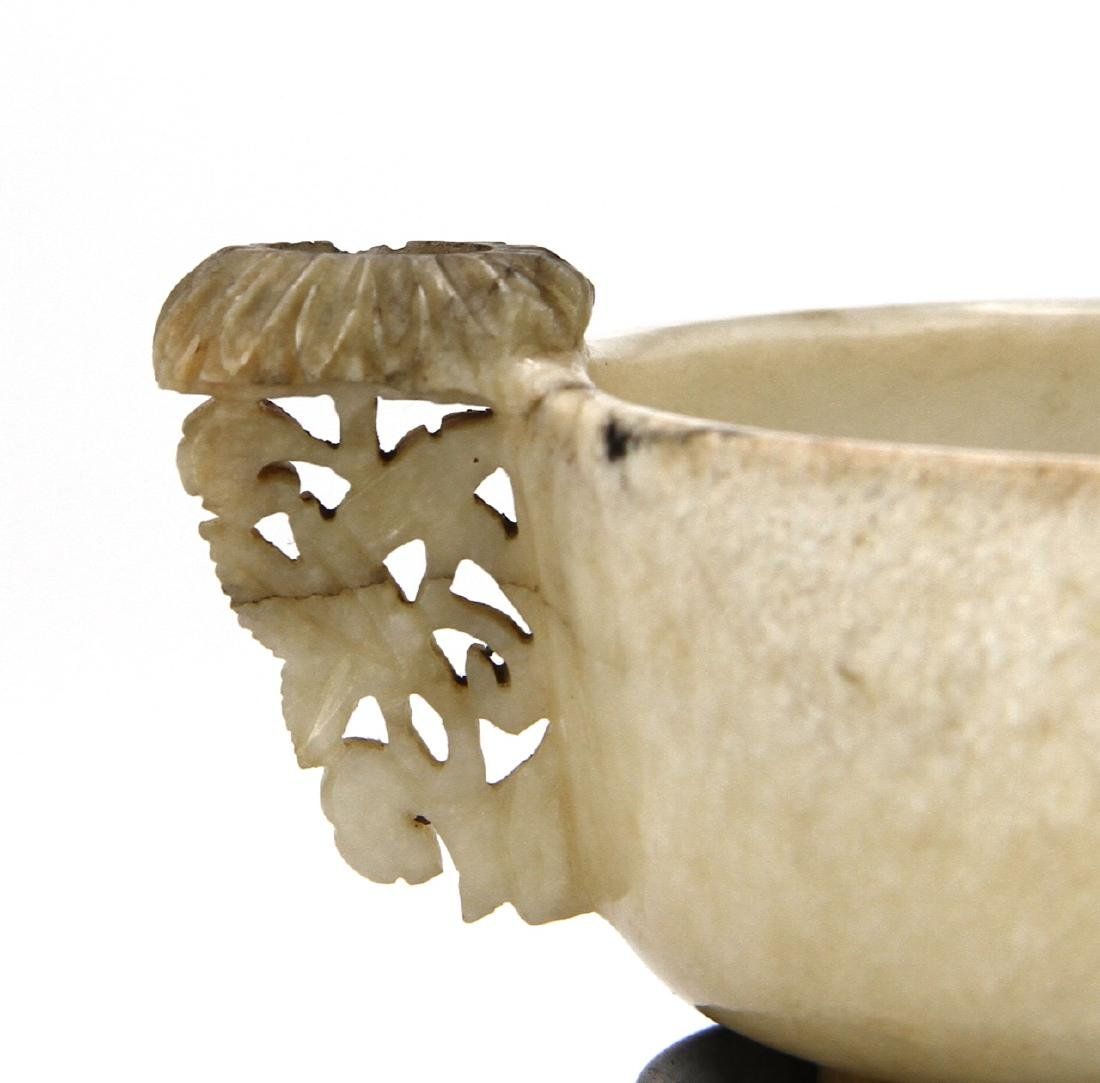 Chinese Black and White Jade Cup, Ching period - 2