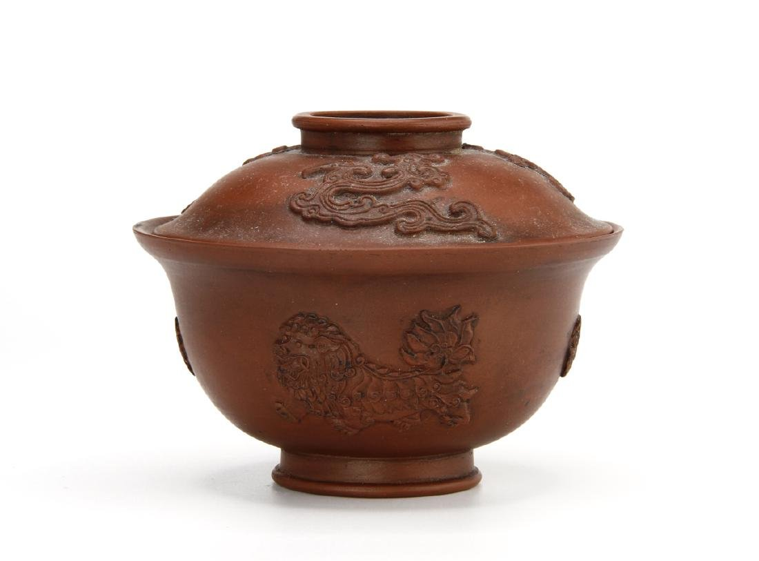 Chinese Yi-Shin Tea Bowl and Cover, Late Ching/ROC
