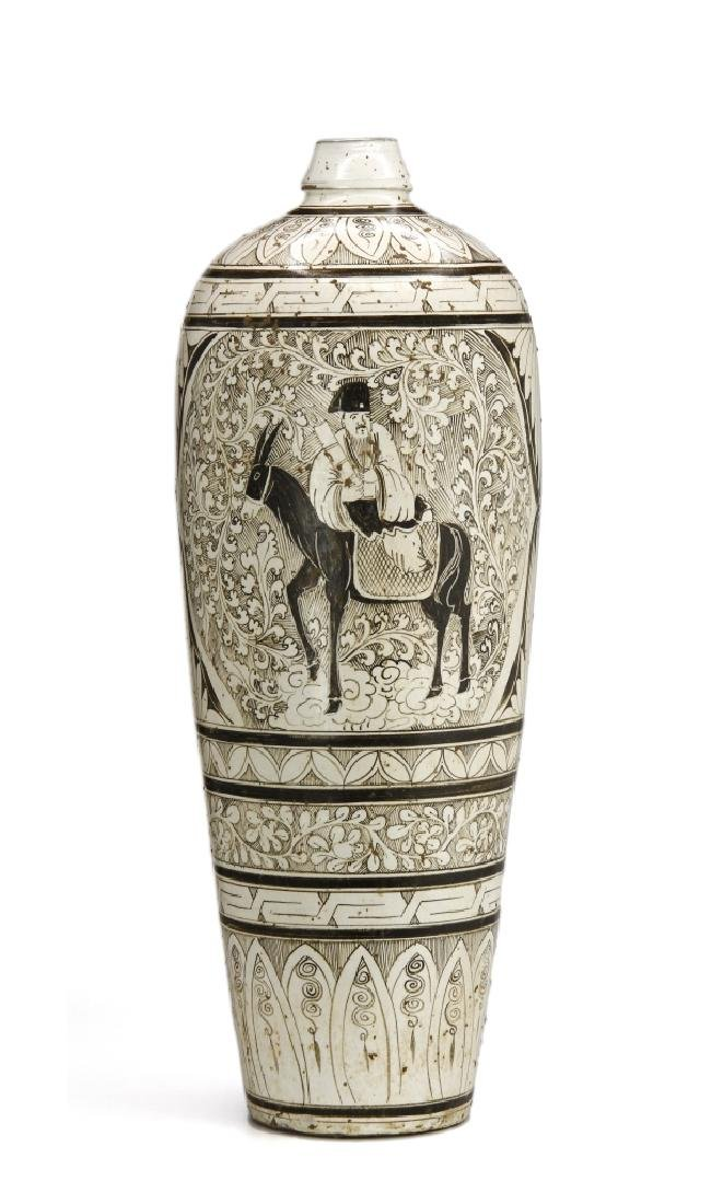 Large T'su-Chou Meiping Vase - 14