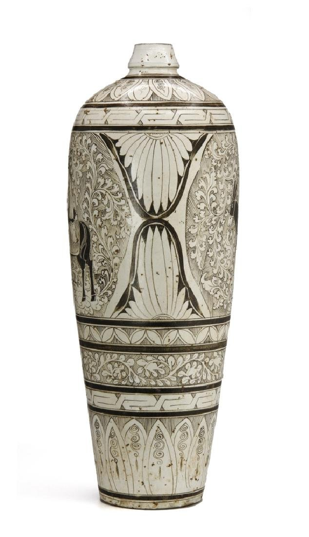 Large T'su-Chou Meiping Vase - 2