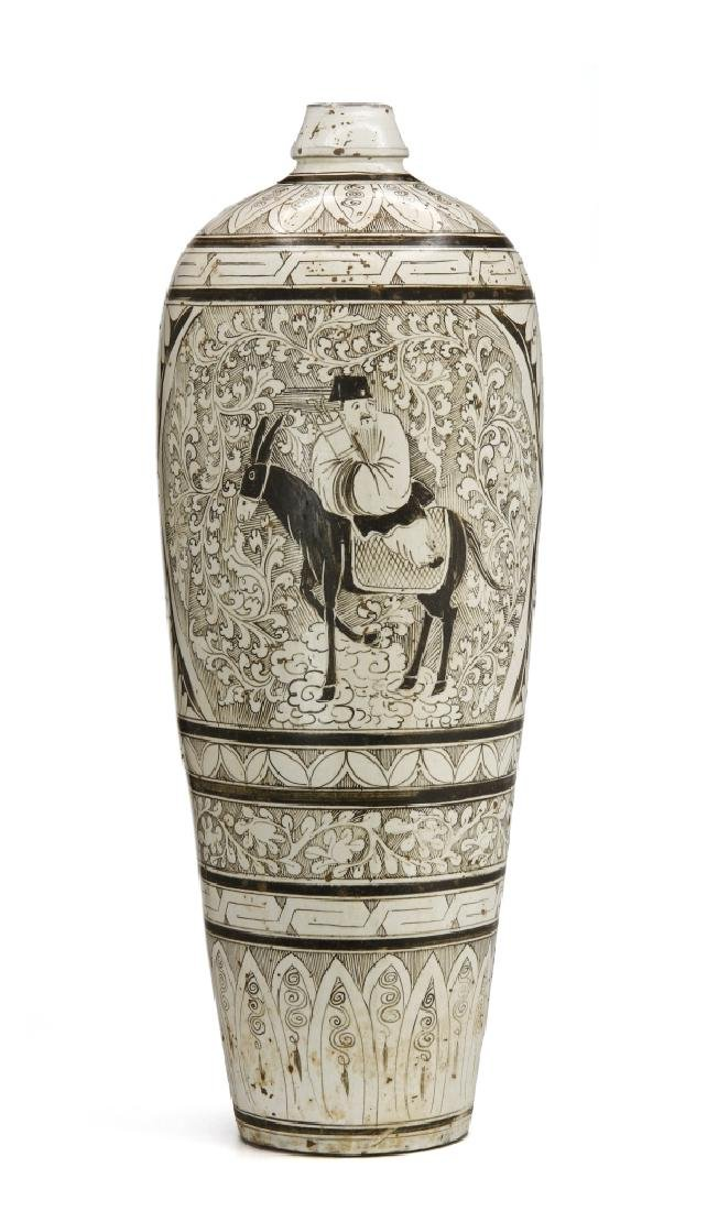 Large T'su-Chou Meiping Vase - 3