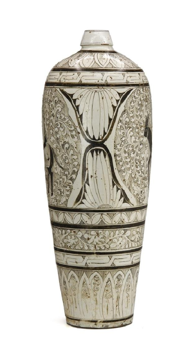 Large T'su-Chou Meiping Vase - 4