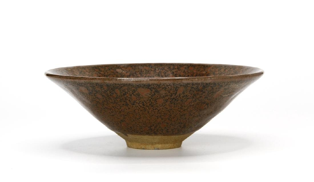 Chinese Henan Russet-Spotted Conical Bowl - 2