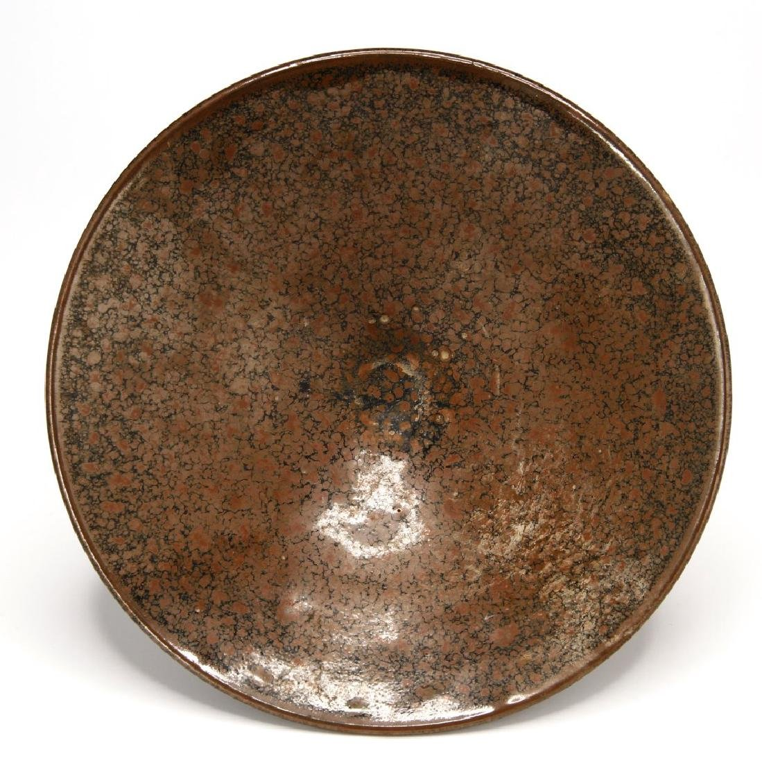 Chinese Henan Russet-Spotted Conical Bowl - 3