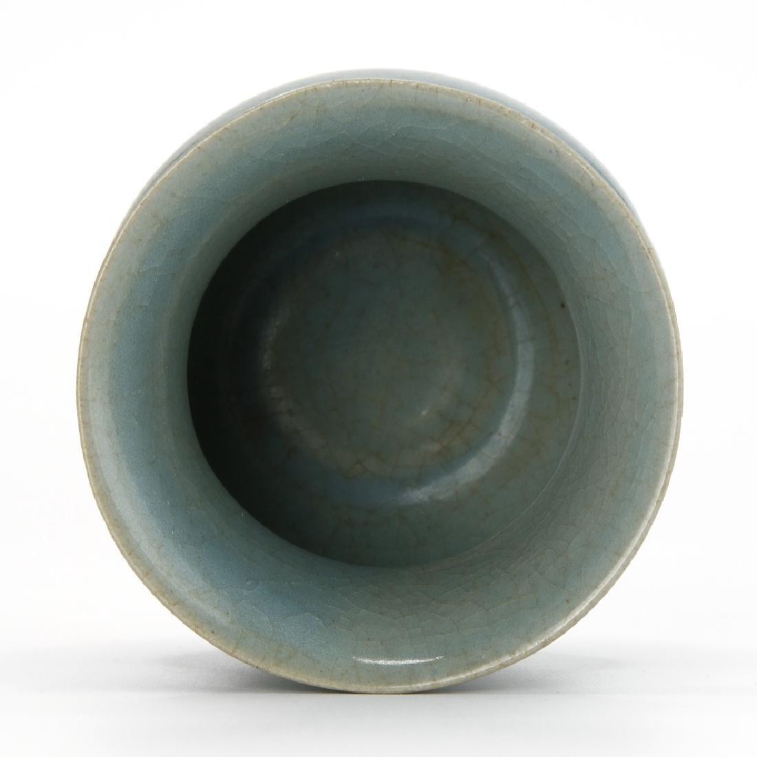 Chinese Lungchuan Guan-Type Chiadou Jar - 5