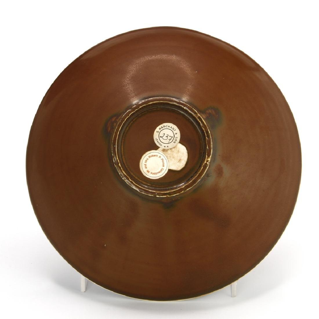 Ting Persimmon Glazed Petal Bowl - 5