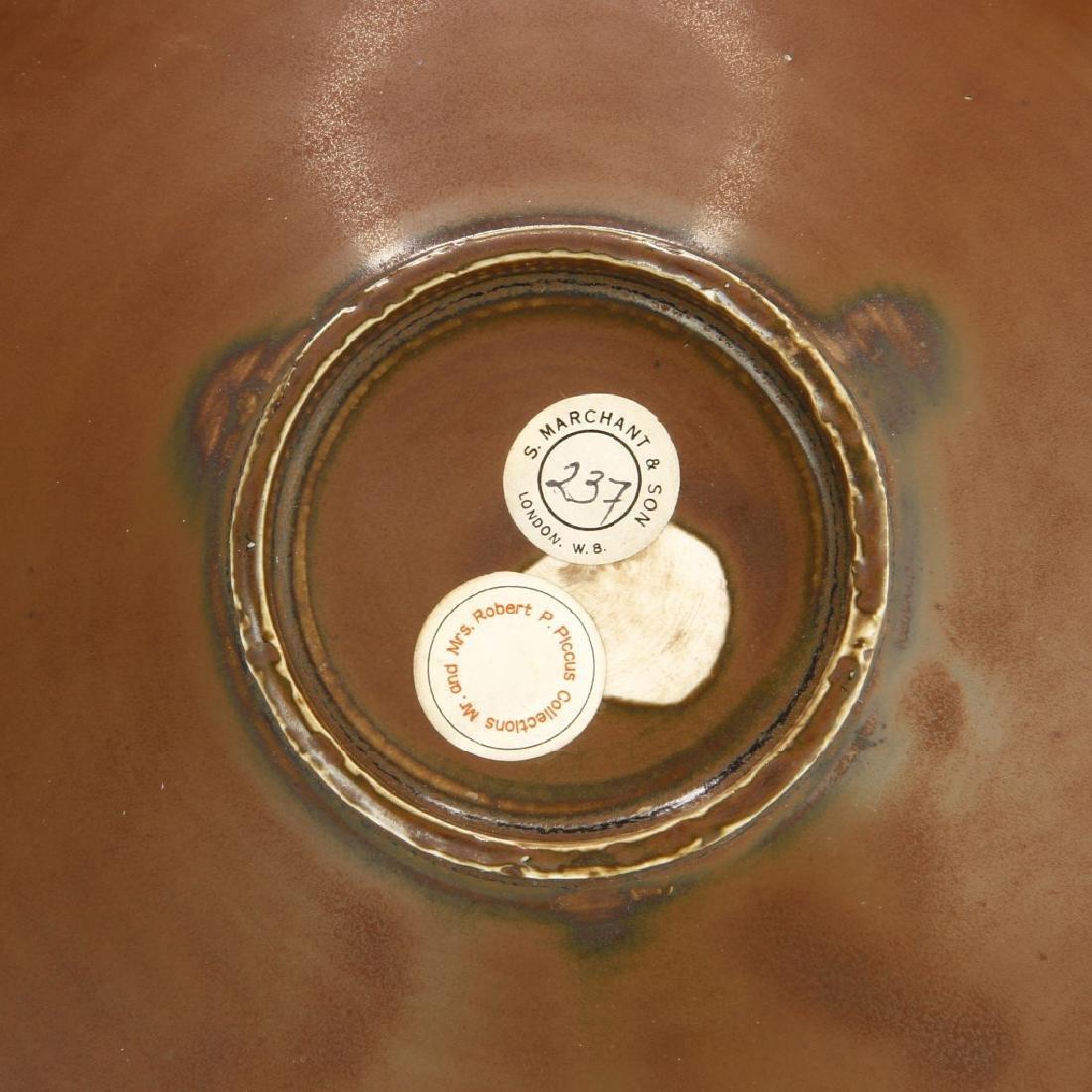 Ting Persimmon Glazed Petal Bowl - 6