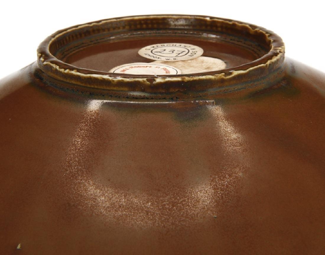 Ting Persimmon Glazed Petal Bowl - 7