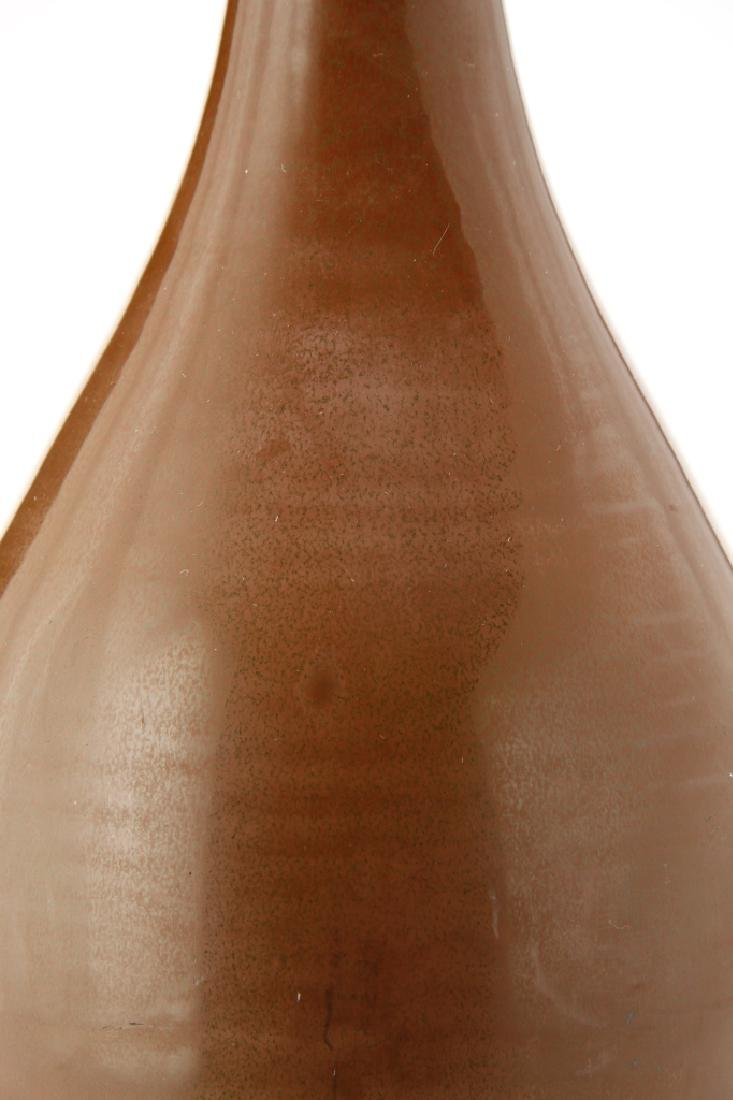 Chinese Persimmon Glazed Ting Vase - 5