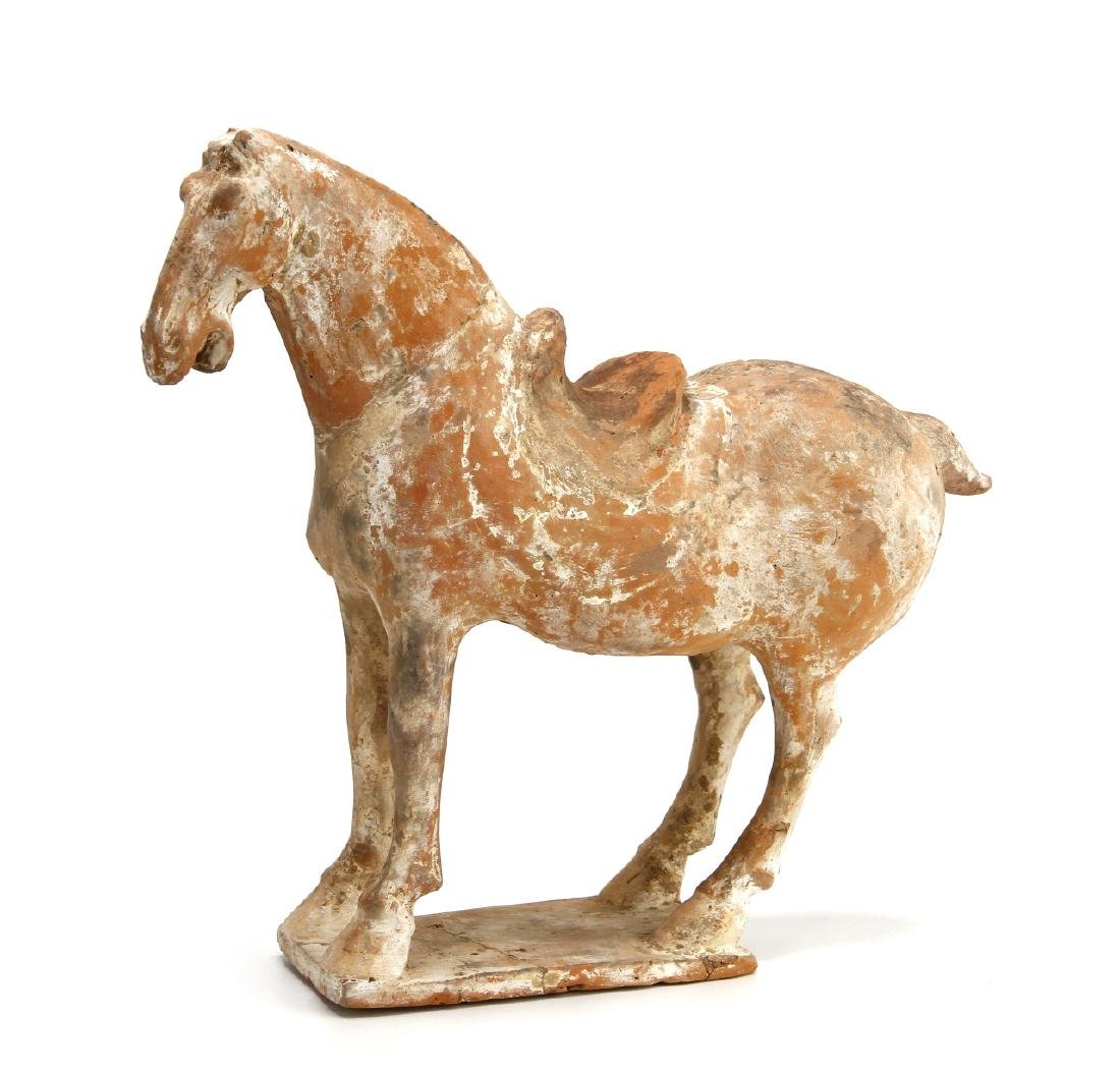 Han Pottery Horse