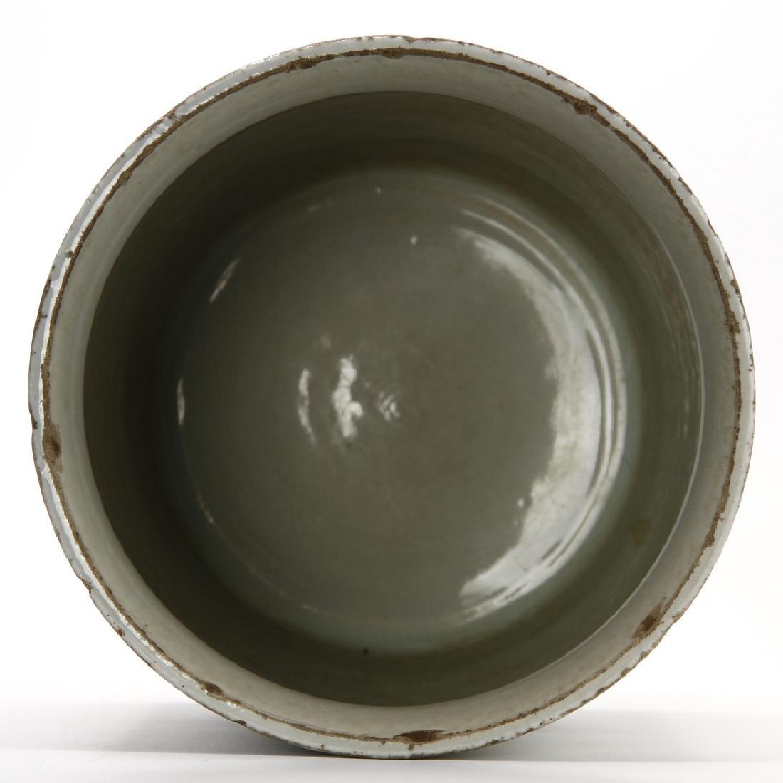 Chinese Peachbloom Brushpot, Early Ching - 6