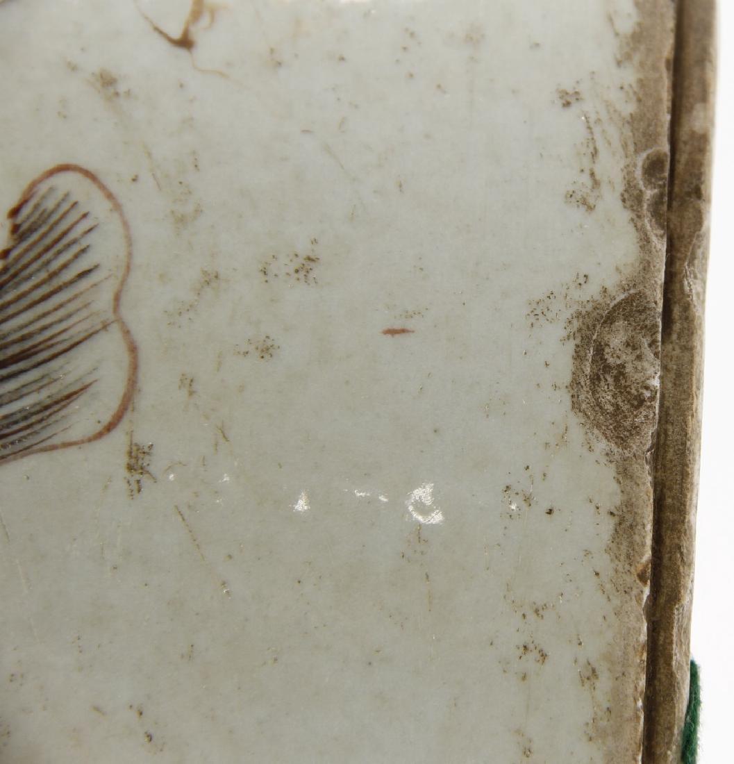 Chinese Peachbloom Brushpot, Early Ching - 9