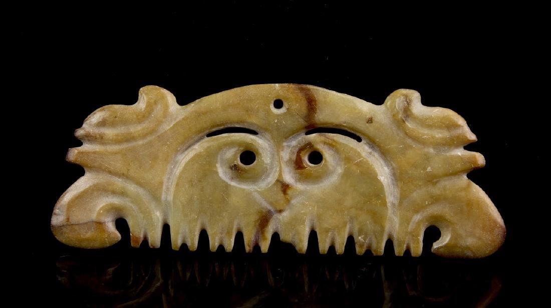 Hongshan Animal Mask Pendant