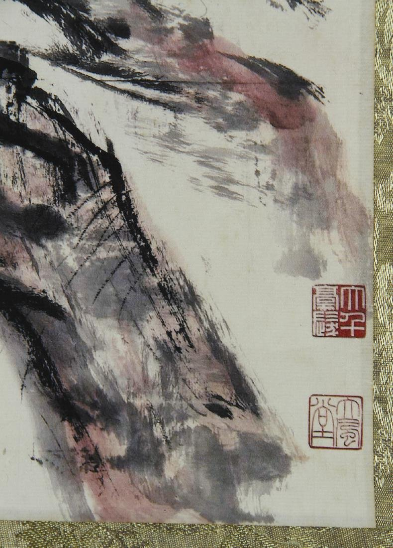 Chinese Hanging Scroll - 4