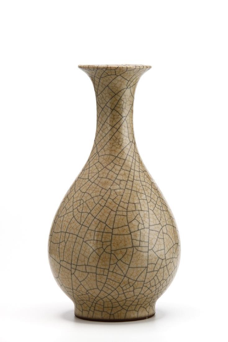 Rare Ko Ware Yuhuchun Vase - 3
