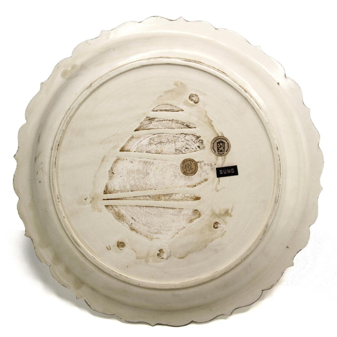 Large Tingyao Molded Foliate-Rim Dish - 7