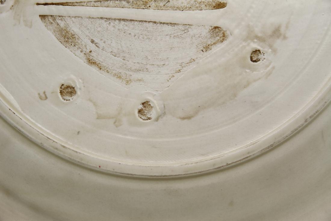 Large Tingyao Molded Foliate-Rim Dish - 9