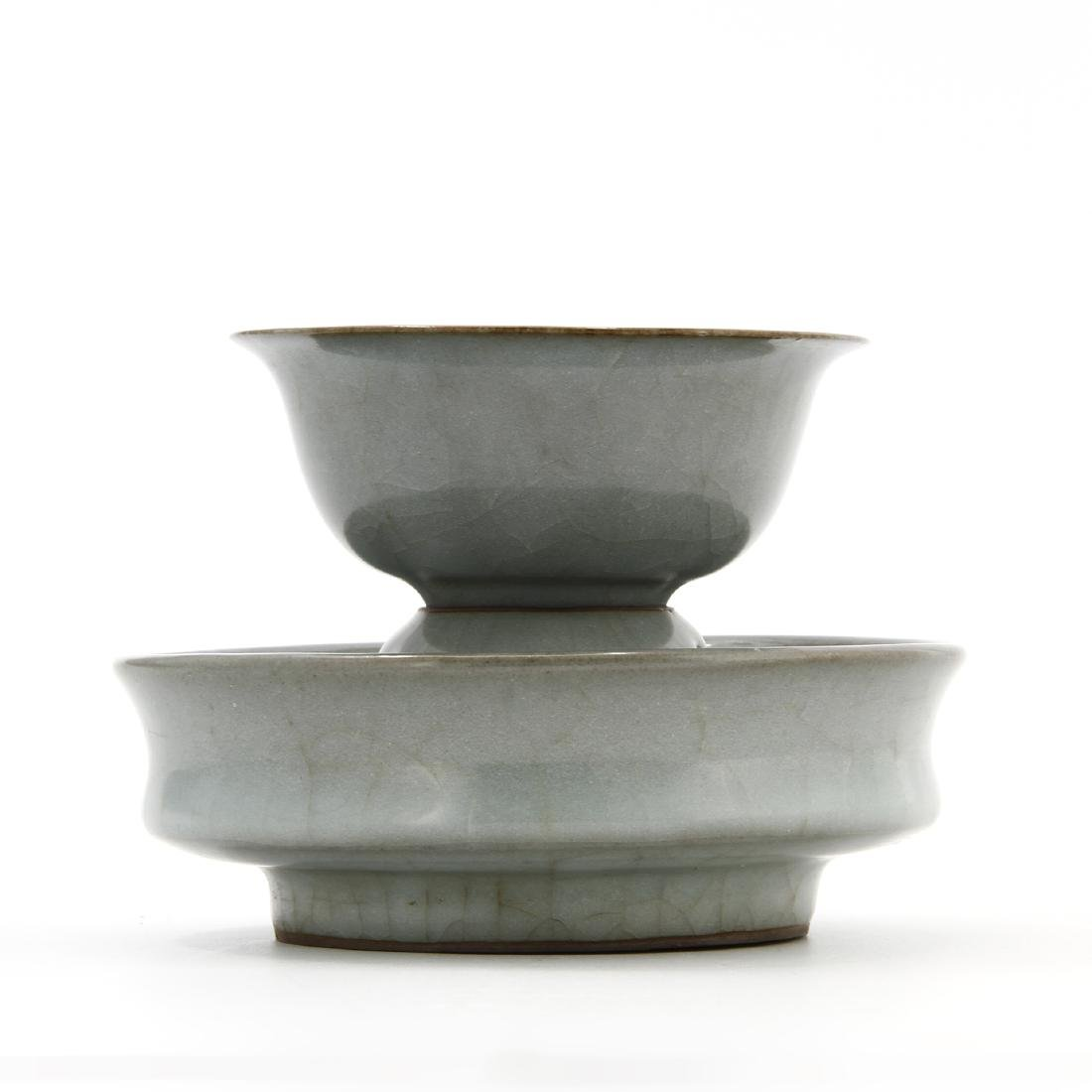 Rare Lungchuan Guan-Type Cupstand/Cup - 2
