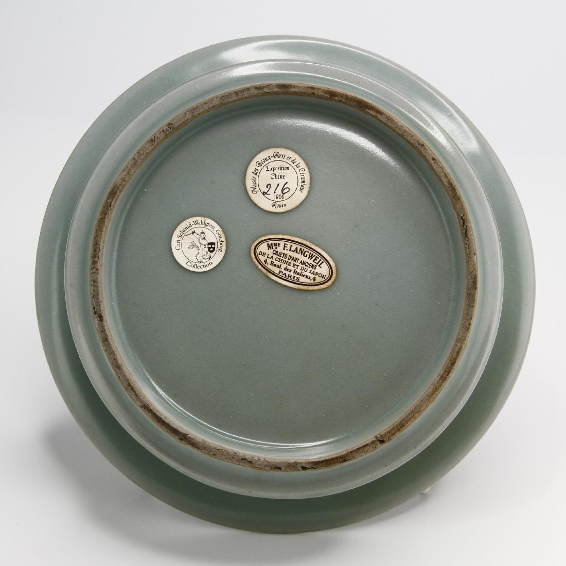 Rare Lungchuan Celadon Brushwasher - 3