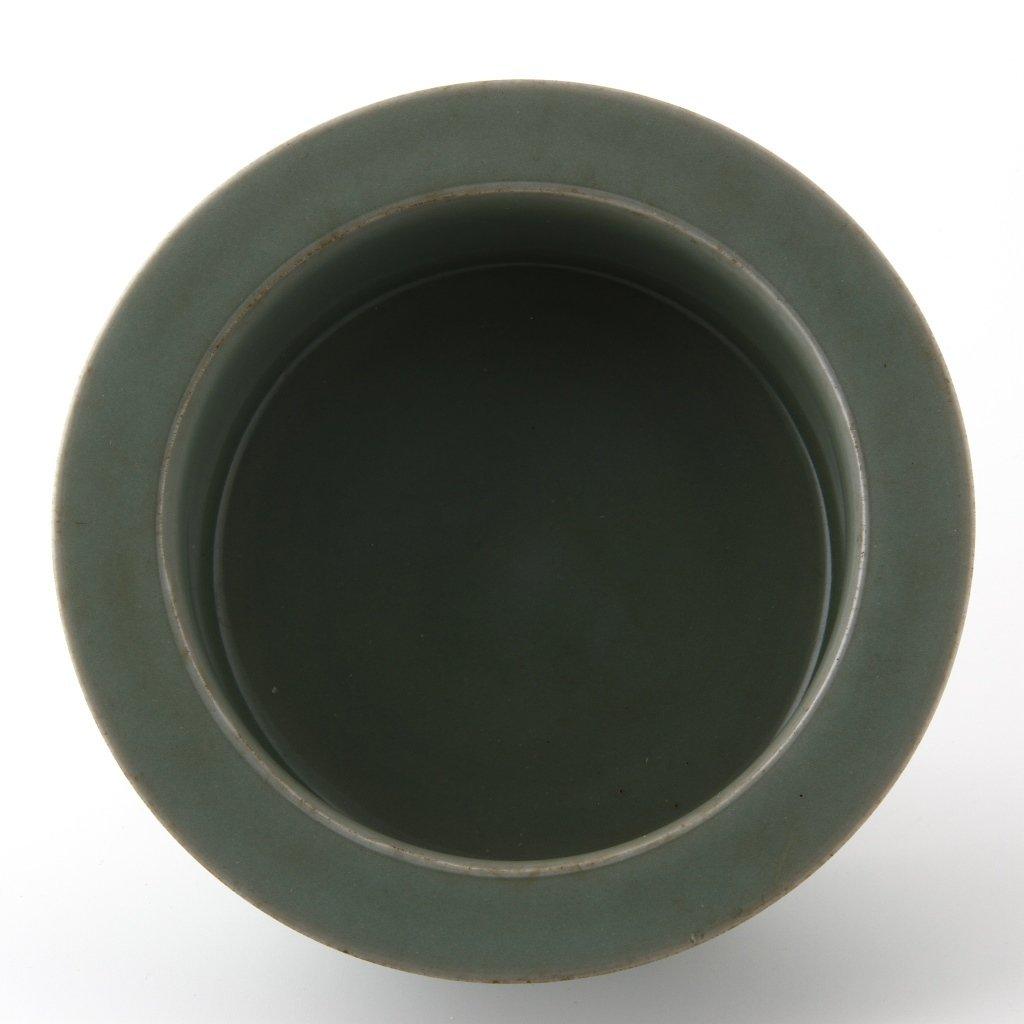 Rare Lungchuan Celadon Brushwasher - 9