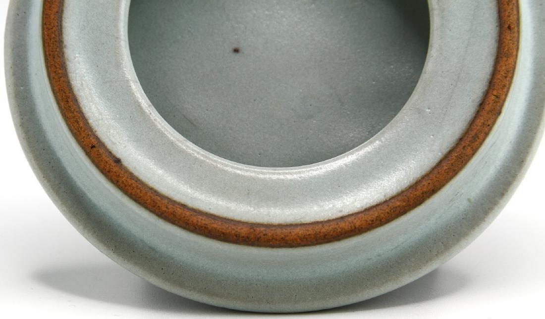 Rare Guan-Type Lotus Form Incense Burner/Cover - 10