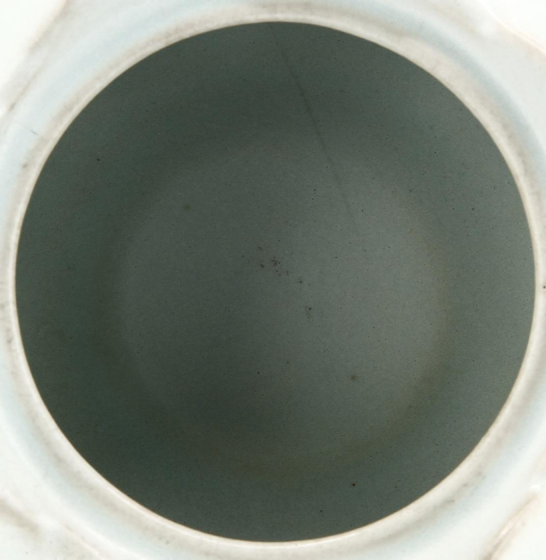 Rare Guan-Type Lotus Form Incense Burner/Cover - 6
