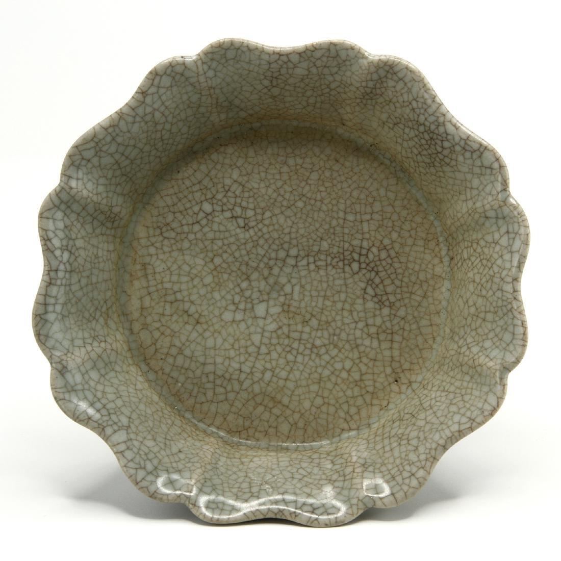 Rare Guan-Type Mallow-Form Brushwasher - 3