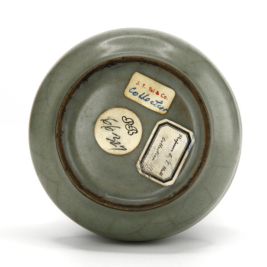 Fine Lungchuan Guan-Type Bottle Vase - 6