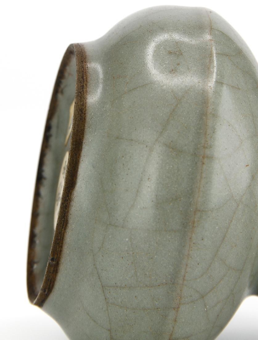 Fine Lungchuan Guan-Type Bottle Vase - 9