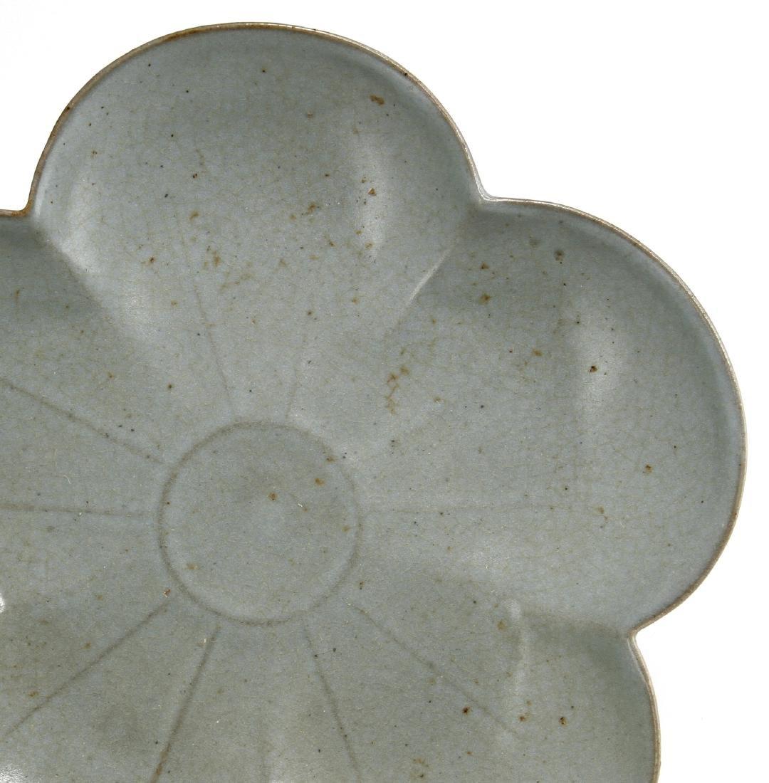Rare Guan-Type Plum Floral Dish - 3