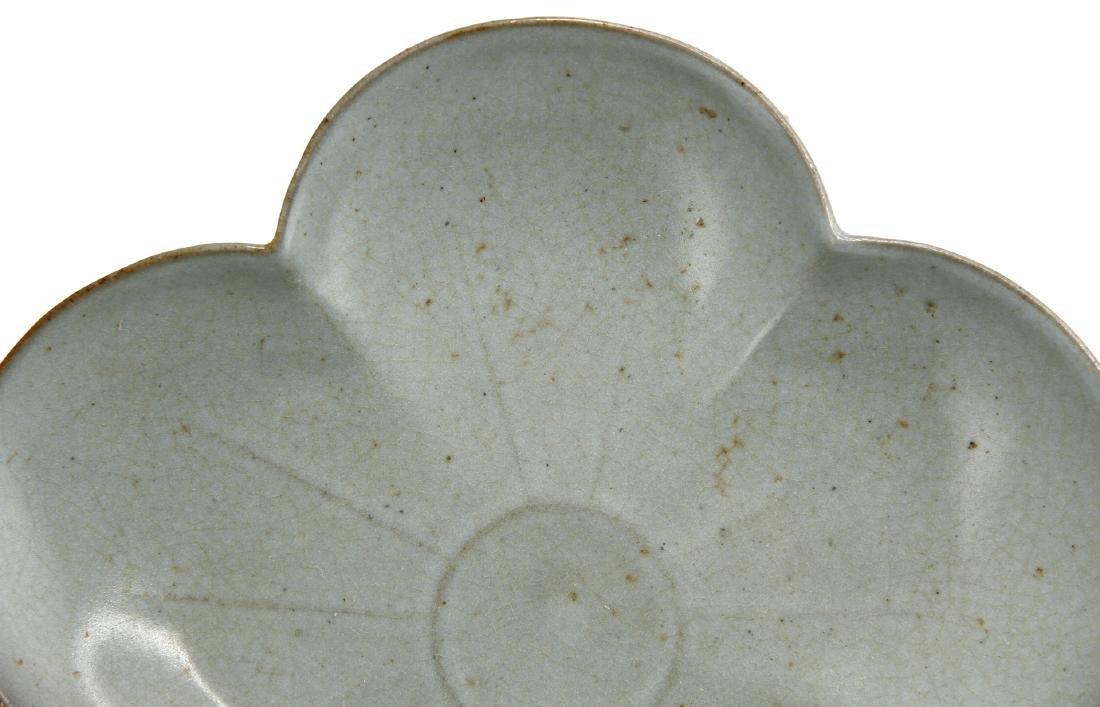 Rare Guan-Type Plum Floral Dish - 4