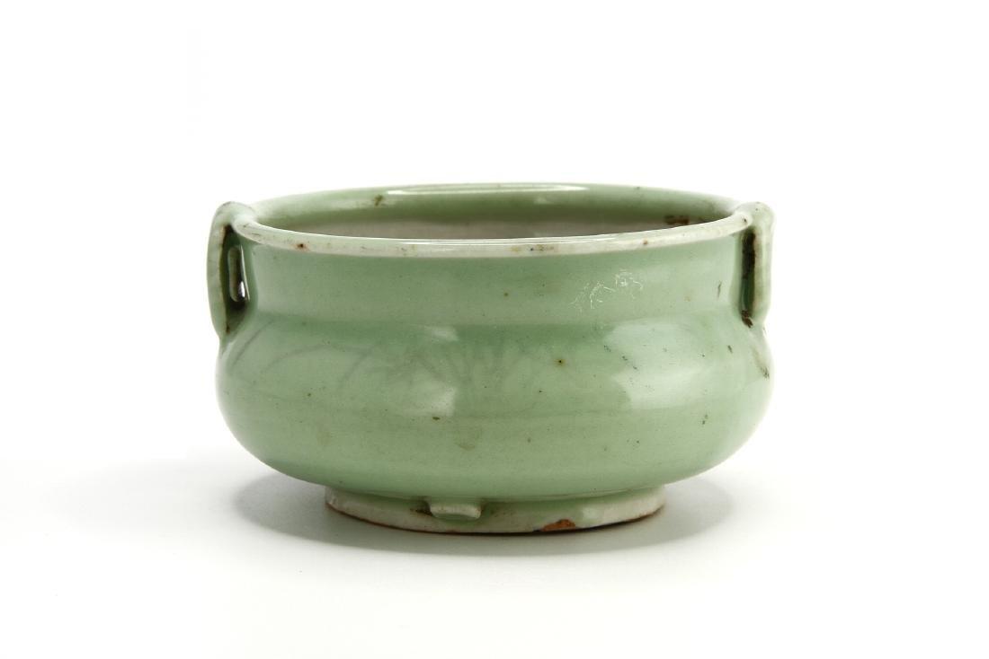 Celadon Glazed Censer