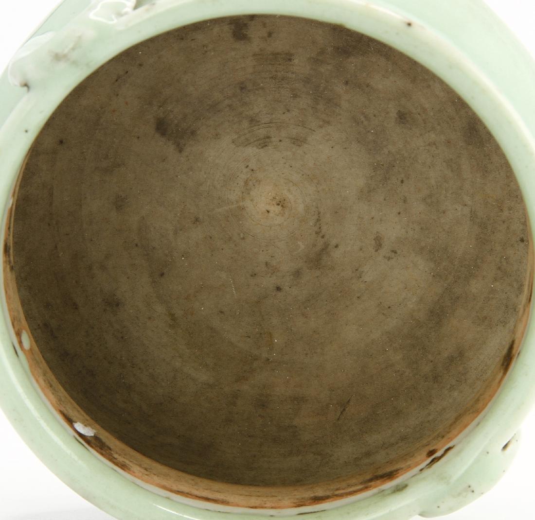 Celadon Glazed Censer - 7