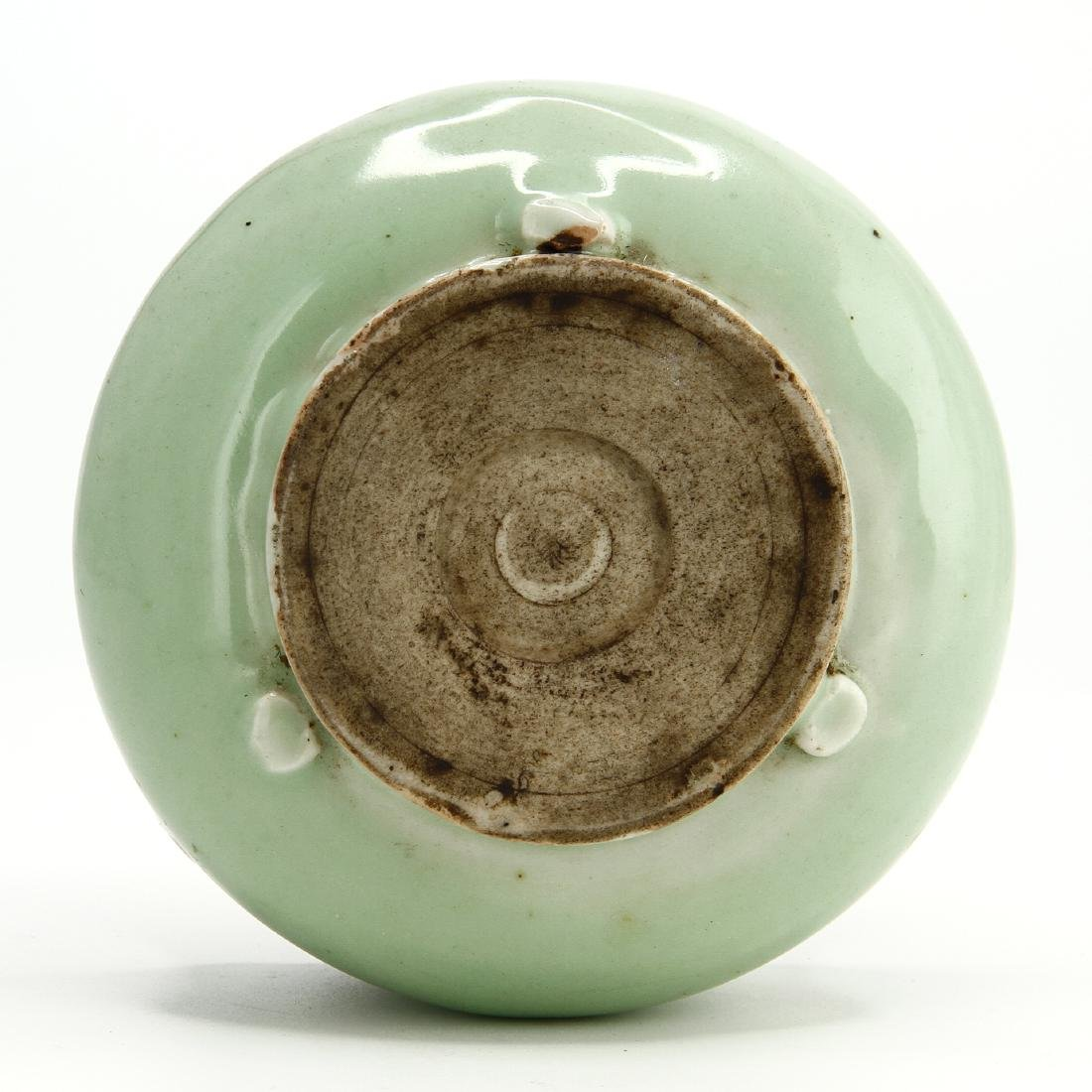 Celadon Glazed Censer - 8