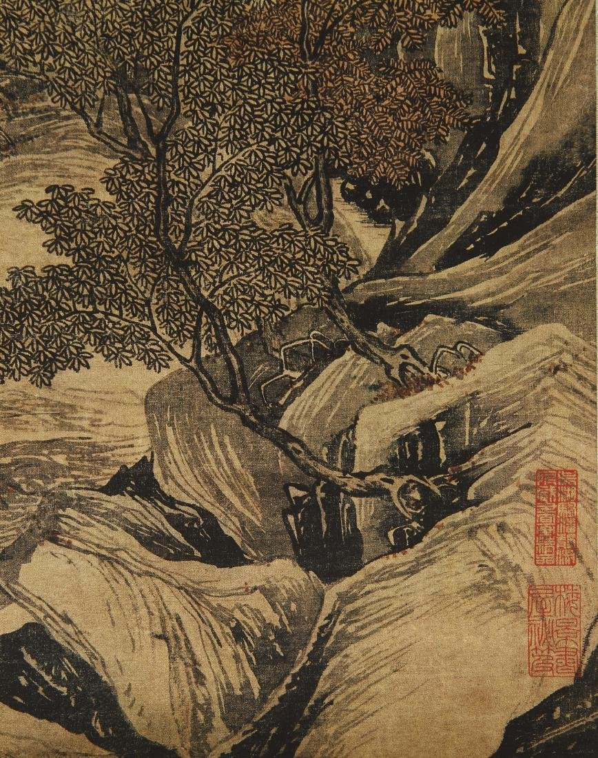 Classic Chinese Hanging Scroll - 3