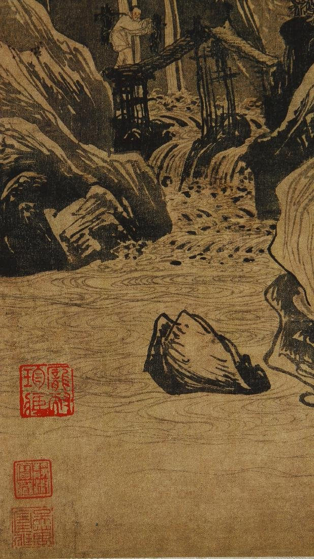 Classic Chinese Hanging Scroll - 4