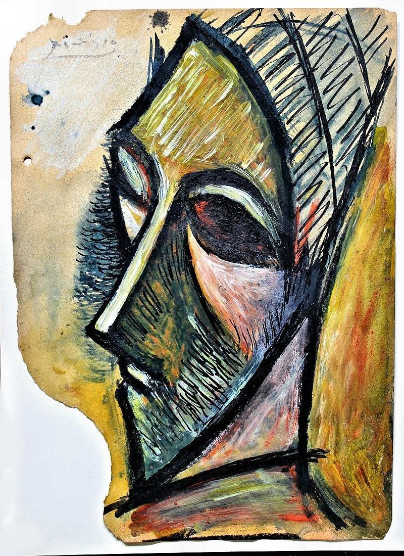 Pablo Picasso (1928-2011) Original Drawing NR - 5