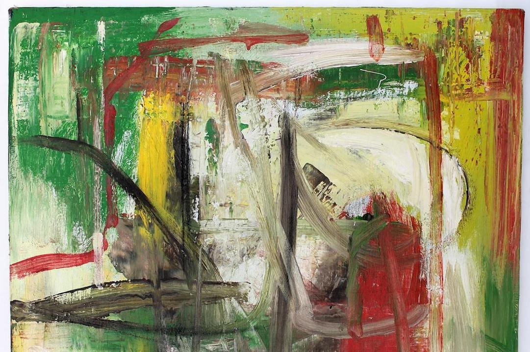 Willem De Kooning (1960-1988) Original Painting NR - 2