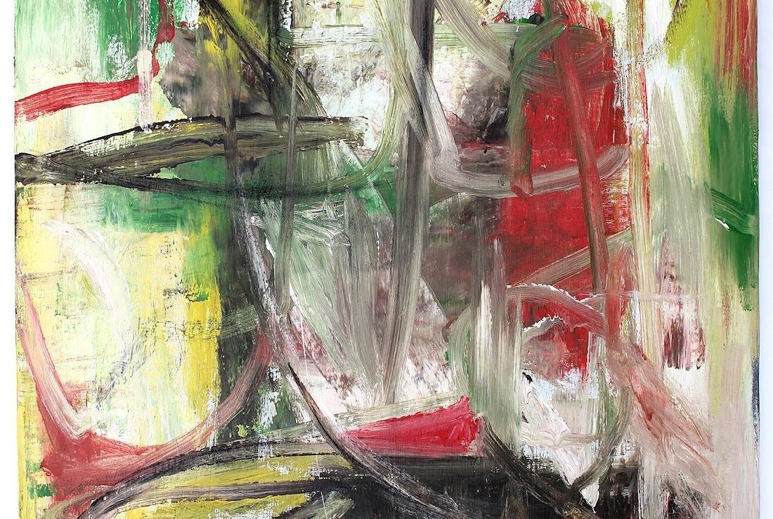Willem De Kooning (1960-1988) Original Painting NR - 3