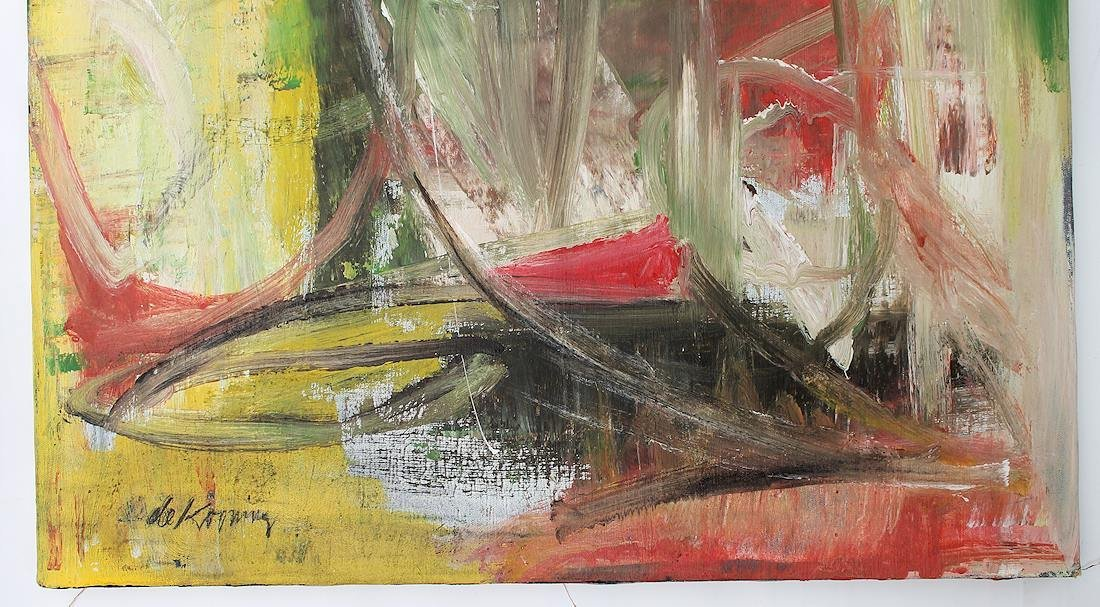 Willem De Kooning (1960-1988) Original Painting NR - 4