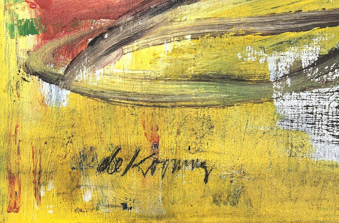 Willem De Kooning (1960-1988) Original Painting NR - 5
