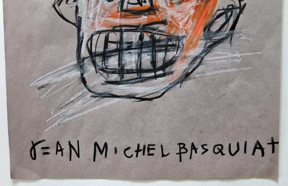 Jean Michel Basquiat (1960-1988) Original Drawing NR - 4