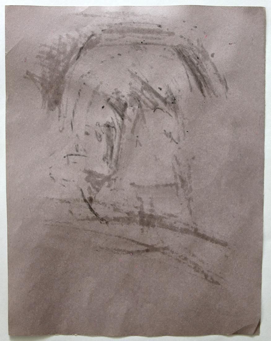 Jean Michel Basquiat (1960-1988) Original Drawing NR - 5