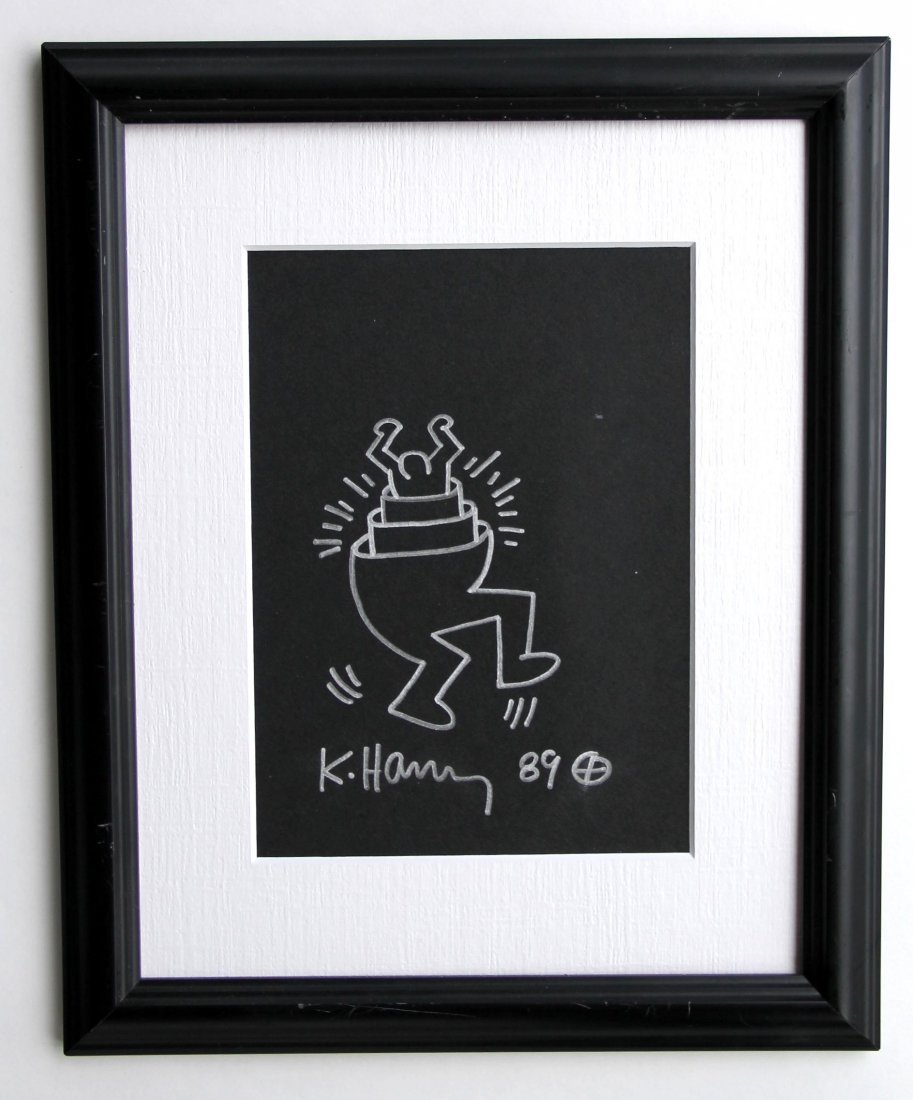 Keith Haring 1958-1990 / Drawing on paper