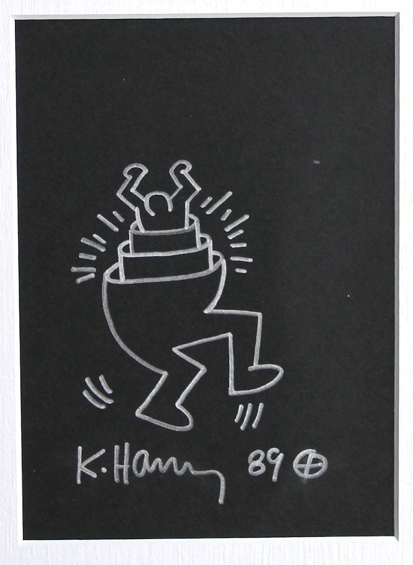 Keith Haring 1958-1990 / Drawing on paper - 2