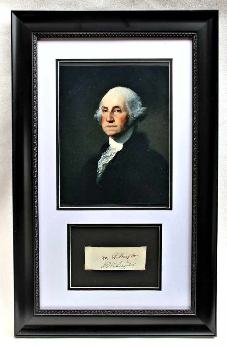 President George Washington Martha Autograph Signature - 5
