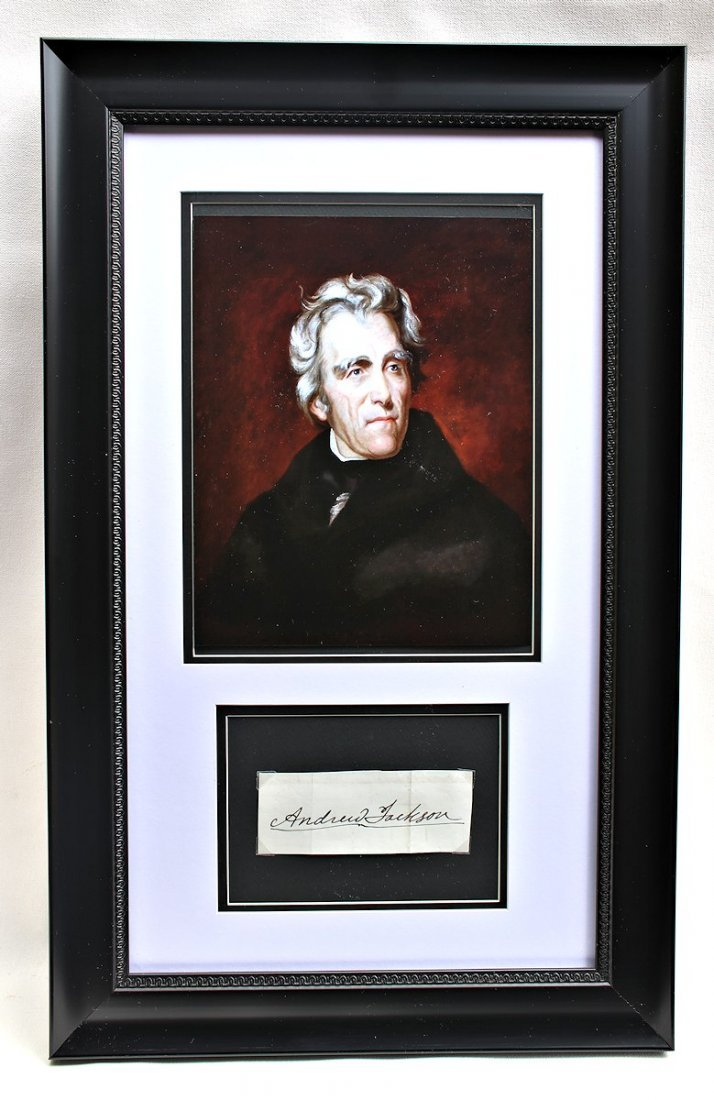 President Andrew Jackson Autograph Signature
