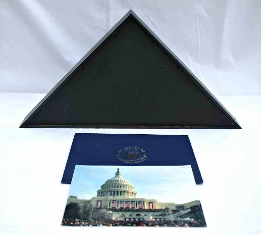 COA President Obama 1st Inauguration Flag  8x12 - 7